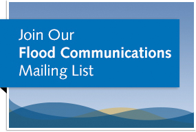 Flood communications sign-up